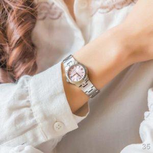 นาฬิกา CASIO สายเหล็ก สำหรับผู้หญิง